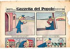 Sergio Tofano STO'  Rivista 10 novembre 1931 supplemento Gazzetta del Popolo