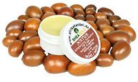 6ml pure kaltgepresste Sheabutter, wild & organic, unraffiniert Premium Qualität