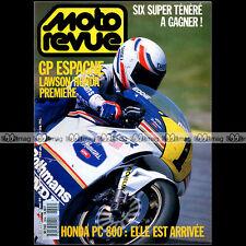 MOTO REVUE N°2894 HONDA PC 800 PACIFIC COAST GAGIVA 350 ELEFANT PEUGEOT SX8 1989