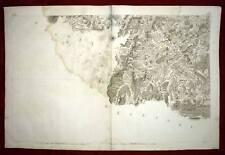PYRENEES , SAINT JEAN PIED DE PORT Carte géographique
