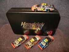 Jeff Gordon 24 Chevy 2002 1/64 4Car 24KT Gold Platinum ColorChrome Brushed Metal