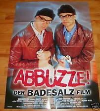 Plakat ABBUZZE! DER BADESALZ FILM Kinoplakat Filmplakat