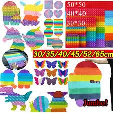 20-85cm Groß Push Poppet Fidget Spielzeug Antistress Sensory Trend Spiele Bubble