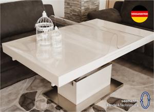 Tischfolie 2mm Tischdecke Transparent Schutzfolie Tischschutz Tischmatte - PVC -