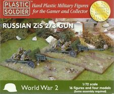 Plastic Soldier 1/72 WWII Russian 57mm ZIS-2 / 76.2mm ZIS-3 Guns & Crews