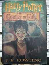 Harry Potter and the Goblet of Fire by J. K. Rowling (2000, Hardcover) 1st Ed.