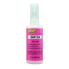Pacer ZAP ca Super Thin PT07 Cyanoacrylate Adhesive 2oz  Free P&P