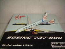 """Phoenix 400 Virgin Blue Airlines B737-800WL """"Head to Queensland color"""" 1:400"""