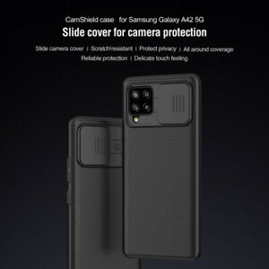 For Samsung Galaxy A42/A71/A51 Camera Protection Shock Proof Phone Cover Nillkin