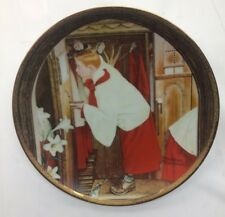 Norman Rockwell The Choir Boy Ltd. Ed. Rose Valley China; No. Cc149A New In Box!