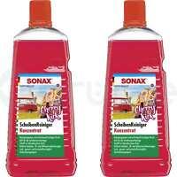 2x SONAX 2L ScheibenReiniger Konzentrat Cherry Kick Concentrate Glass Cleaner