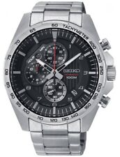 Seiko Gents EXCLUSIVE Chronograph Date Display Watch  SSB319P1-NEW