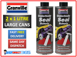 2 x Underbody Seal Schutz Rust Protection Underguard Underseal Spray 1 Litre 222