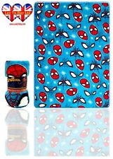 Spiderman Blanket Supper Soft Coral Blanket/Throw,Official Licenced(150 x 95 cm)