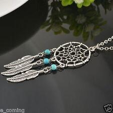 Retro Womens Necklace Jewelry Dream Catcher Party Choker Pendant Chain Gift