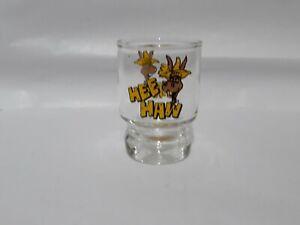Vintage Hee Haw TV show Shot glass. Bar Ware