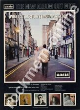 Oasis (What's The Story) Morning Glory LP Advert
