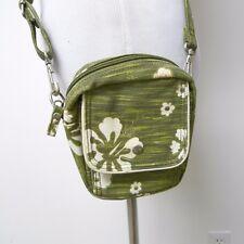 American Eagle Outfitters green tropical Hawaiian print shoulder bag / belt bag
