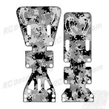 T-Maxx / E-Maxx INTEGY Skid Plate Protectors Digital Camo White - Traxxas