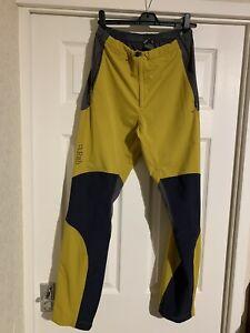 Rab Torque Pants Trousers Dark Sulphure 30 Inch Waist