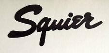 Squier headstock decal new.....