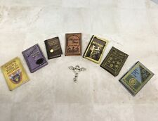 More details for dolls house miniature 1/12 scale handmade readable harry potter themed books