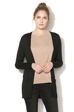 35deb4d9118d39 Esprit Womens Long Sleeve Regular Fit Cardigan 087EE1I025 Size 8 UK Black