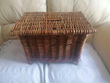 Fishing Basket Wicker Vintage