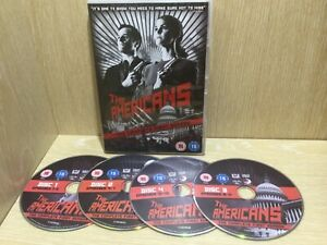 The Americans The Complete First Season 1 DVD Region 2