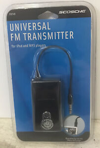 Scosche FMT4R FM Universal Transmitter For IPod And MP3 Players NEW Sealed
