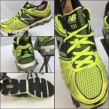 New Balance 721 Sz 9 Men Yellow Black Running Shoes EUC YGI M6-82