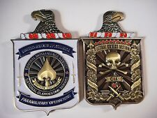 Central Intelligence Agency HUMINT Clandestine Paramilitary CIA Challenge Coin