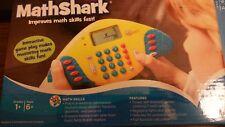 Mathshark Educational Insights Handheld Electronic Math Shark Game Calculator