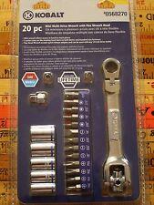 Kobalt 20 piece Min Multi-Drive Dog Bone Wrench with Flex Wrench Head - #0568270