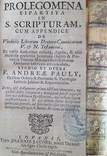 Pauly 1758 Leuven Prolegomena in Scripturam Melsele exegese theologia
