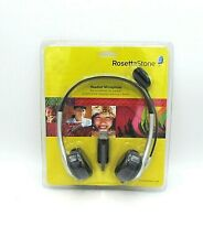 Rosetta Stone Headset Microphone USB For Language Learning Software New Sealed