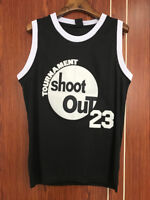 MASMIG Above The Rim Motaw 23 Tournament Shoot Out Basketball Jersey Black