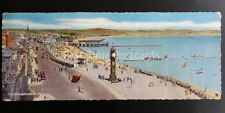 Dorset WEYMOUTH The Esplanade - Wideview Old Postcard by J. Salmon 143W
