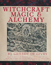 Witchcraft Magic & Alchemy  Limited 1st Edition + Jacket  376 Illustrations 1931