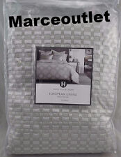 Hotel Collection Ironwork Matelasse FULL / QUEEN Coverlet & Euro Shams Silver