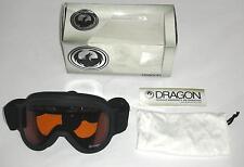 Dragon Alliance D1XT Snow Goggles, Black, Amber