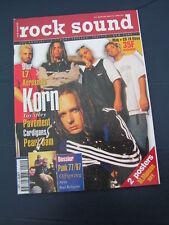 ROCK SOUND 1997 44 KORN BLUR L7 OFFSPRING NOFX BAD RELIGION AEROSMITH CARDIGANS