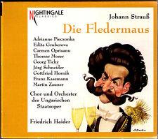 J. STRAUSS: DIE FLEDERMAUS Edita GRUBEROVA Thomas MOSER PIECZONKA HAIDER 2CD