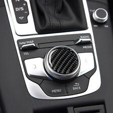 Carbon Fiber Sticker For Audi A3 A4L 2014-2019 Central Control Knob