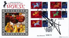 Benham 2013 Year of the Horse First Day Covers signed by Rick Astley