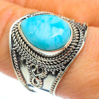 Larimar 925 Sterling Silver Ring Size 9 Ana Co Jewelry R46603F