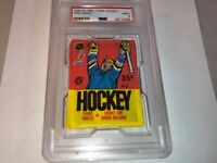 1987 OPC O-PEE-CHEE PSA 9 Graded MINT Unopened Pack Hockey Cards