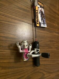 Frabill Freya Ultra Light Icefishing Rod And Reel Combo  24""