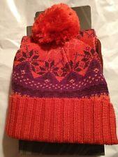 Merrell Women Beanie Hat & Scarf Winterbelle Soft Stretchy Single Fabric One Sz