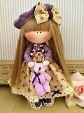 Rag doll handmade in the UKt Tilda doll Ooak doll MILLIE 8 inch